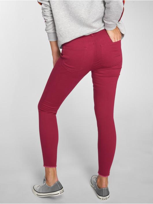 JACQUELINE de YONG Skinny Jeans jdyFive czerwony