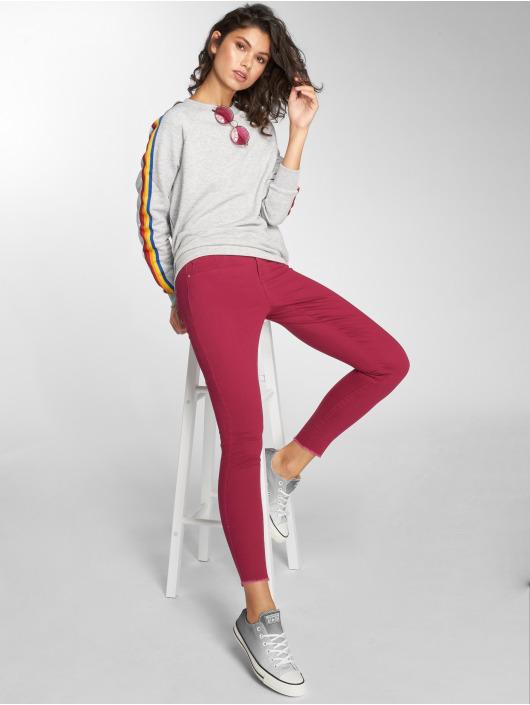 JACQUELINE de YONG Skinny Jeans jdyFive rød