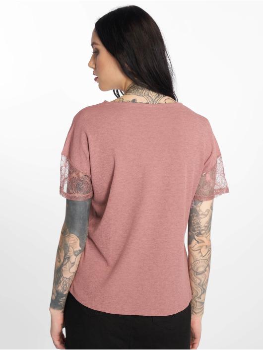 JACQUELINE de YONG t-shirt jdyApple Lace rose