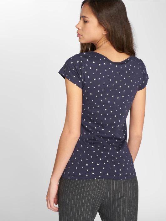 JACQUELINE de YONG T-Shirty jdySuri Glitter niebieski