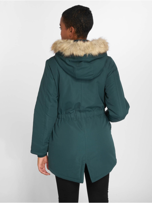 JACQUELINE de YONG Winter Jacket jdyStar New Fall green