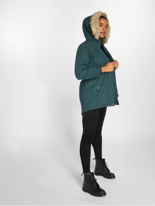 JACQUELINE de YONG Zimní bundy jdyStar New Fall zelený