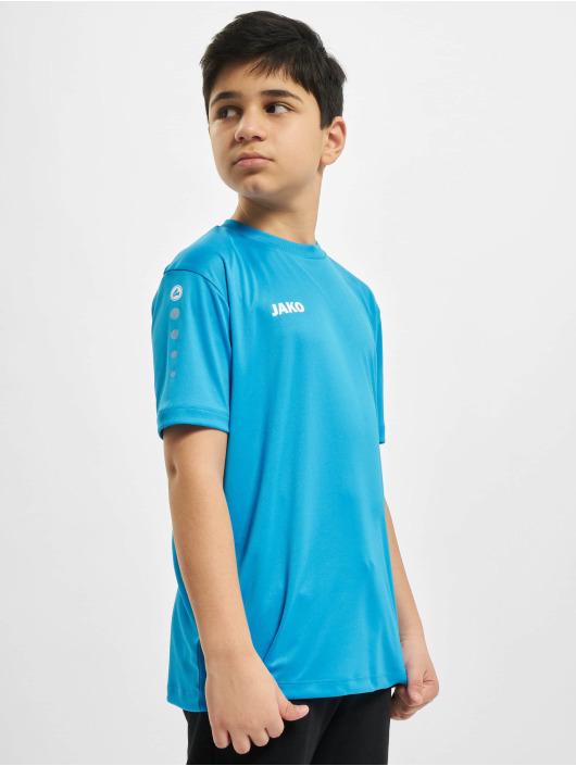 JAKO T-Shirty Team Ka niebieski