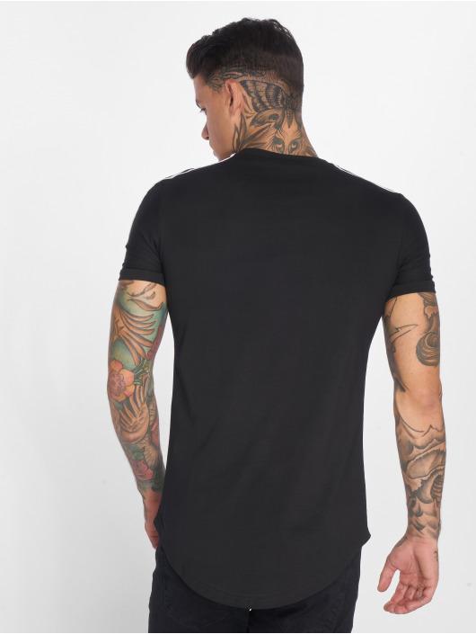 John H T-Shirt Stars schwarz