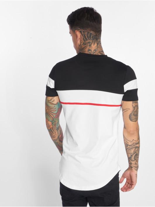 John H T-Shirt Line weiß