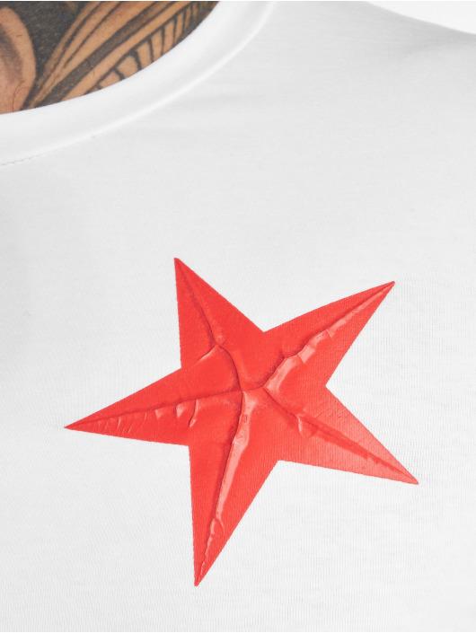 John H T-Shirt UsedStars weiß