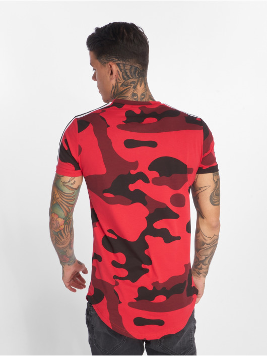 John H T-skjorter Camoulook red