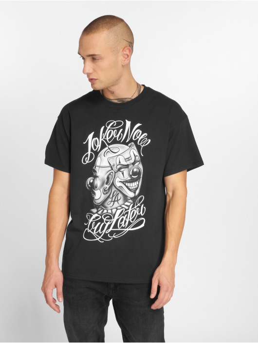 Joker Camiseta Masks negro