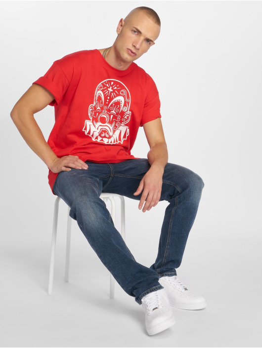 Joker Camiseta Mexico Clown rojo