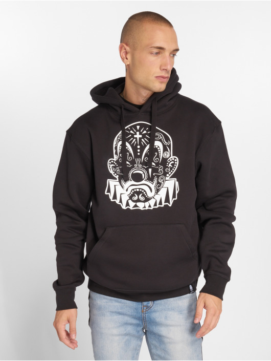Joker Hoody Mexico Clown schwarz