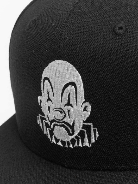 Joker Snapback Cap Clown schwarz