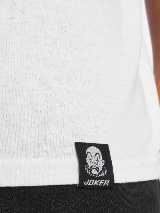 Joker T-paidat Clown Brand valkoinen