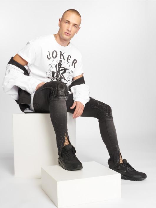 Joker T-paidat Knives valkoinen