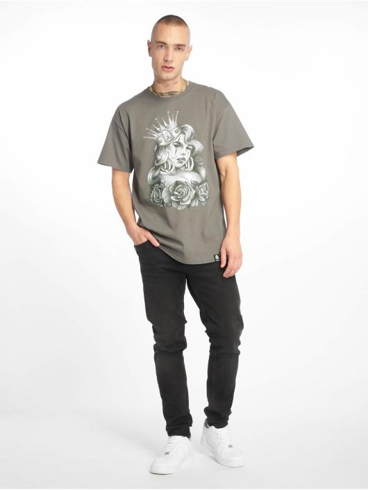 Joker T-Shirt Queen grau