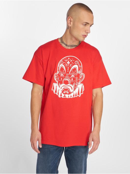 Joker T-shirt Mexico Clown röd