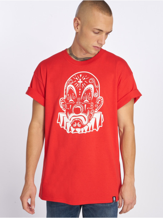 Joker t-shirt Mexico Clown rood