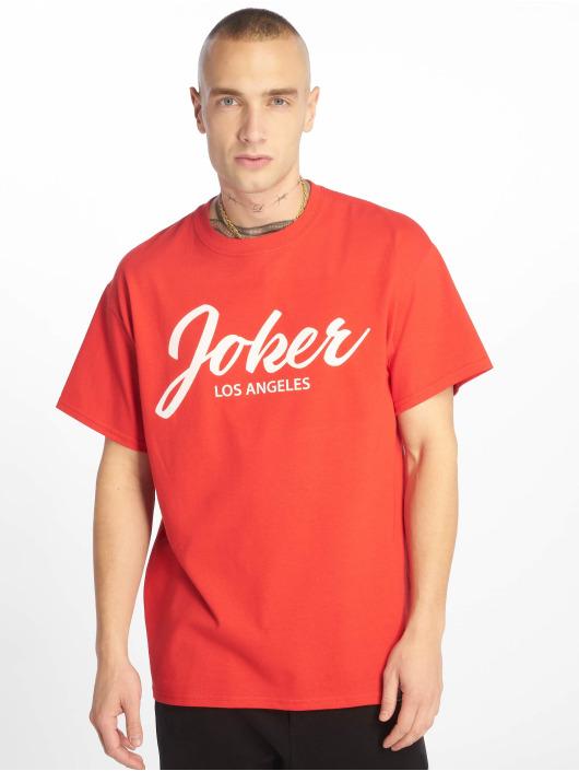 shirt Script Homme T Joker 629084 Rouge exdCBo