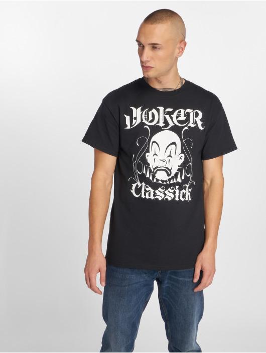 Joker T-Shirt Classick Clown schwarz