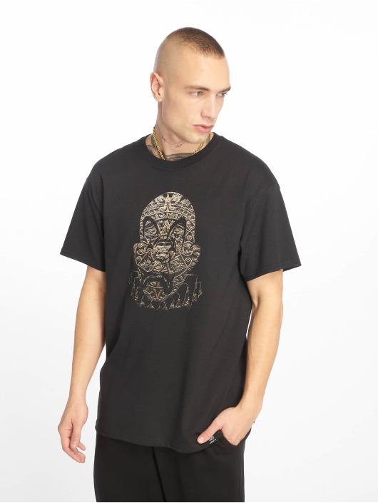 Joker T-Shirt Aztec Clown schwarz