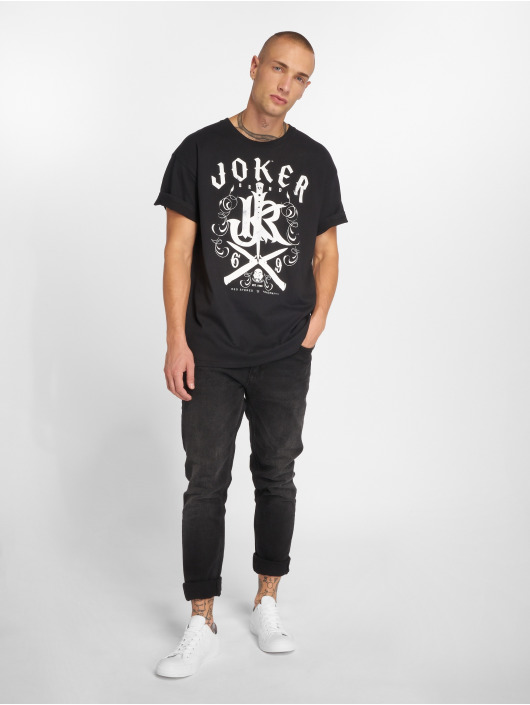 Joker t-shirt Knives zwart