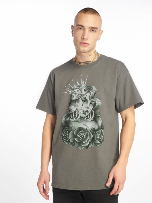 Joker T-skjorter Queen grå