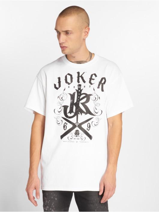 Joker T-skjorter Knives hvit