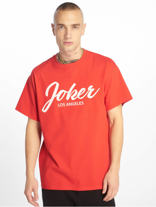 Joker T-skjorter Script red