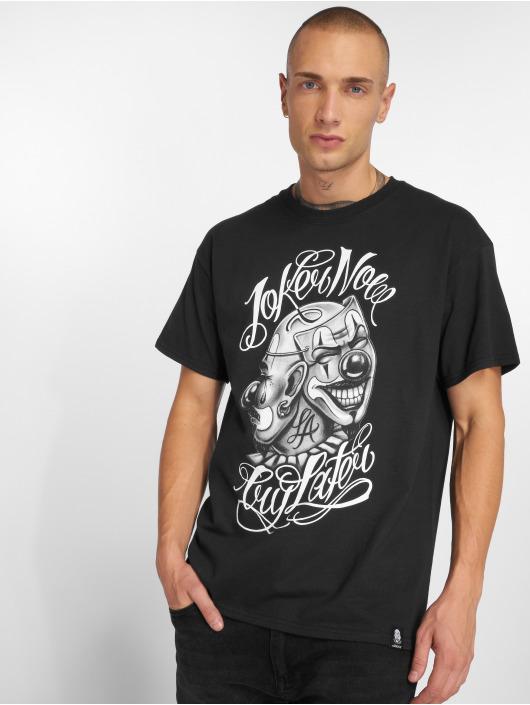 Joker T-skjorter Masks svart
