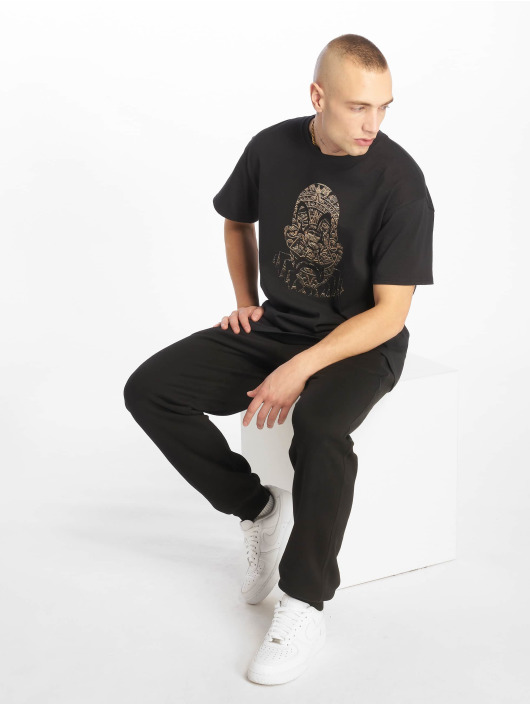 Joker T-skjorter Aztec Clown svart