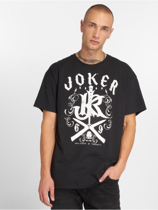 Joker Tričká Knives èierna