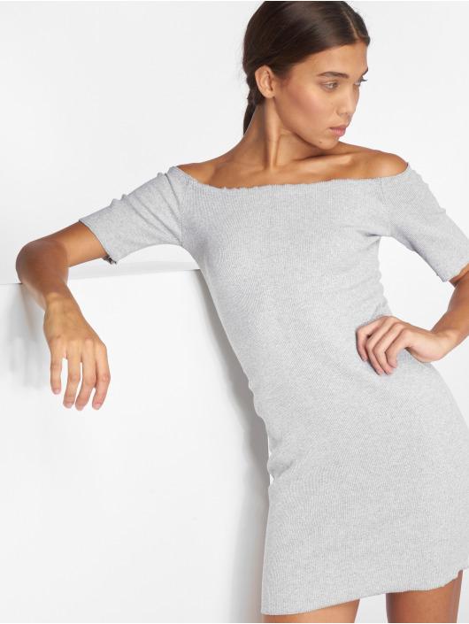 Joliko Dress Ripp grey