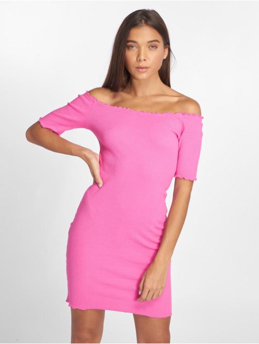 Joliko Dress Ripp pink