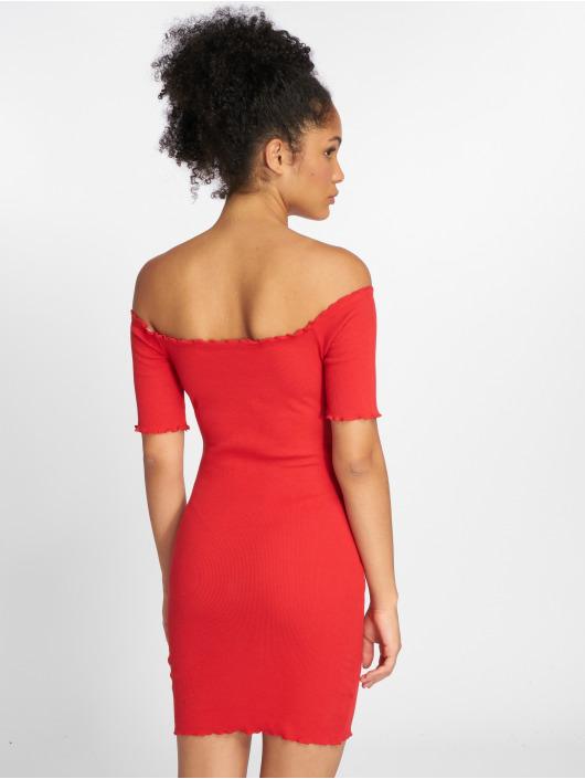 Joliko Dress Ripp red