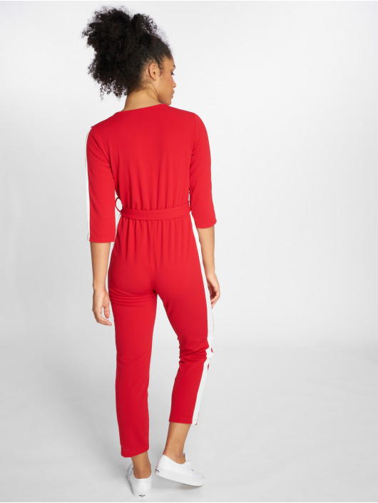 Joliko Jumpsuits Lazy czerwony