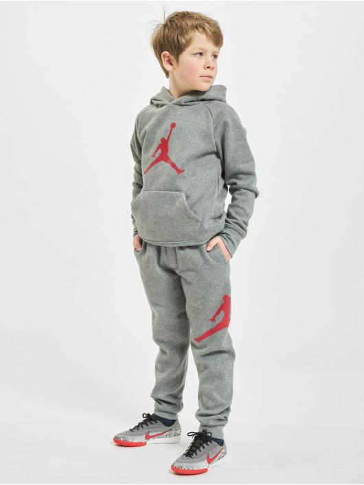 Jordan Спортивные брюки Jumpman Logo серый