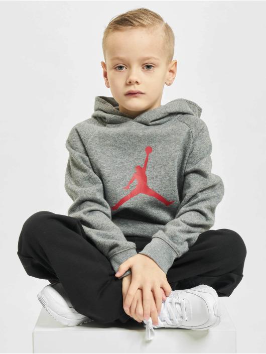 Jordan Толстовка Jumpman Logo серый