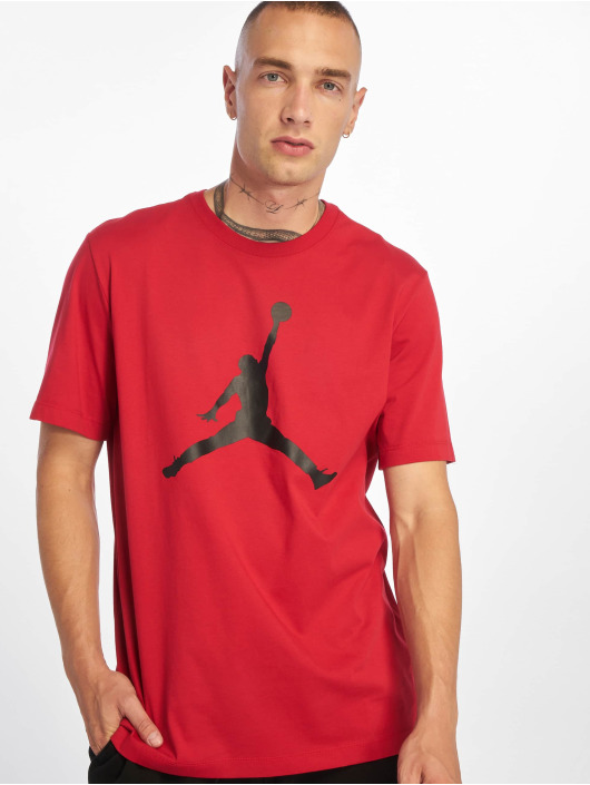 Jordan Футболка Jumpman SS Crew красный