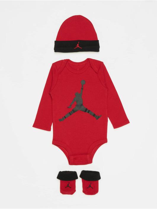 Jordan корсаж L/S Jumpman красный