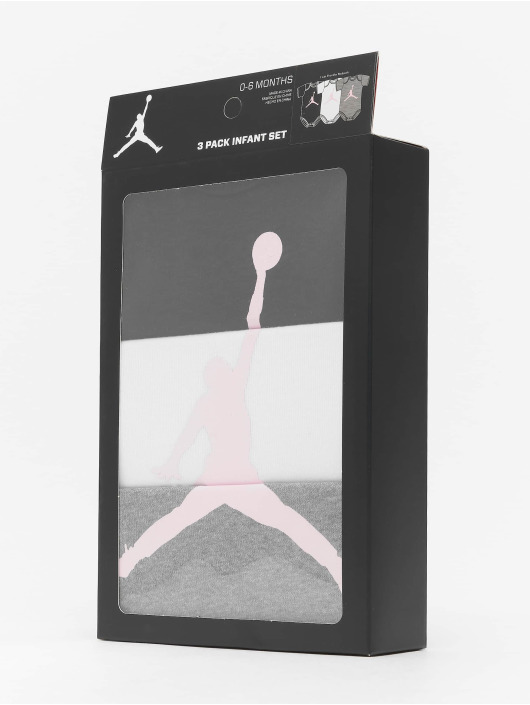 Jordan корсаж 3-Pack Jumpman серый