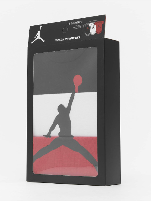 Jordan корсаж 3-Pack Jumpman черный