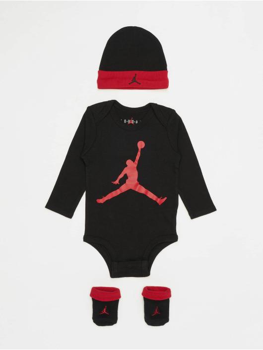 Jordan корсаж L/S Jumpman черный