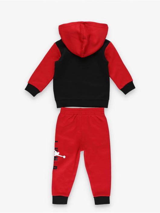 Jordan Anzug Jumpman Sideline Pullover & Jogger rot