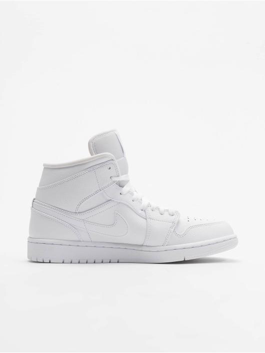 Jordan Baskets Mid blanc