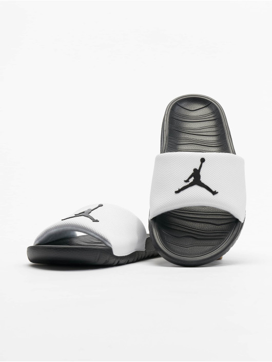 meet 3d058 2c9d8 ... Jordan Baskets Break Slide blanc ...