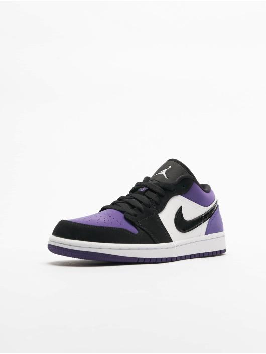 Jordan Air 1 Low Sneakers WhiteBlackCourt Purple