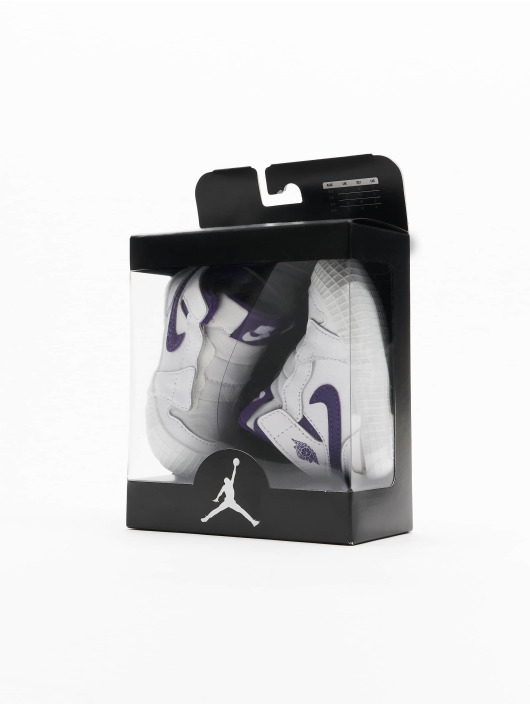 Jordan Baskets 1 Crib Bootie blanc