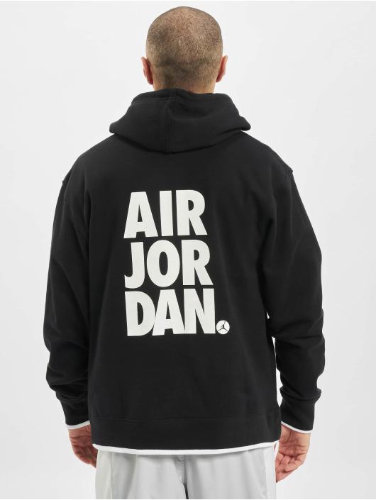 Jordan Bluzy z kapturem Jumpman Classics czarny