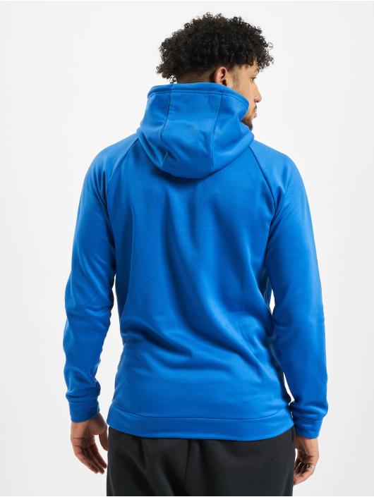 Jordan Bluzy z kapturem 23 Alpha Therma Fleece niebieski