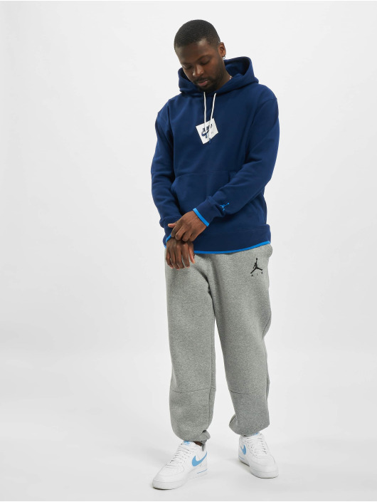 Jordan Bluzy z kapturem JMC Fleece niebieski