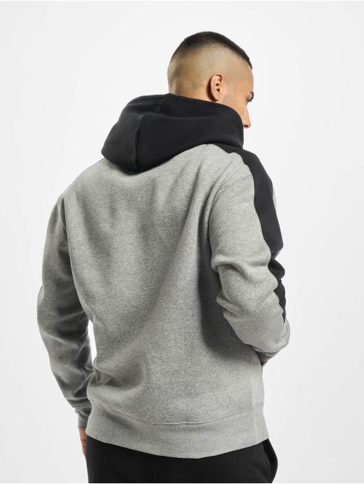 Jordan Bluzy z kapturem Fleece szary